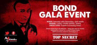 2015 Firends of Rostrevor Bond Gala Event