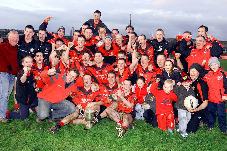 Rostrevor Seniors winning the Divison 1 league final 2006